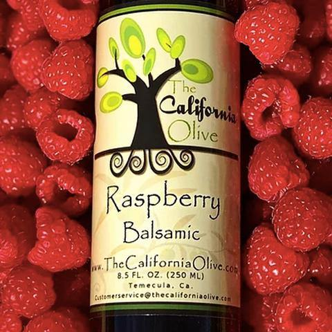 Raspberry Dark Balsamic Vinegar of Modena - San Diego Honey Company®