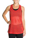 Women's Red Lola Top