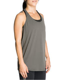 Women's Grey Breathable Top