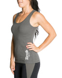 Womens DeuS Green/Charcoal Tank Top