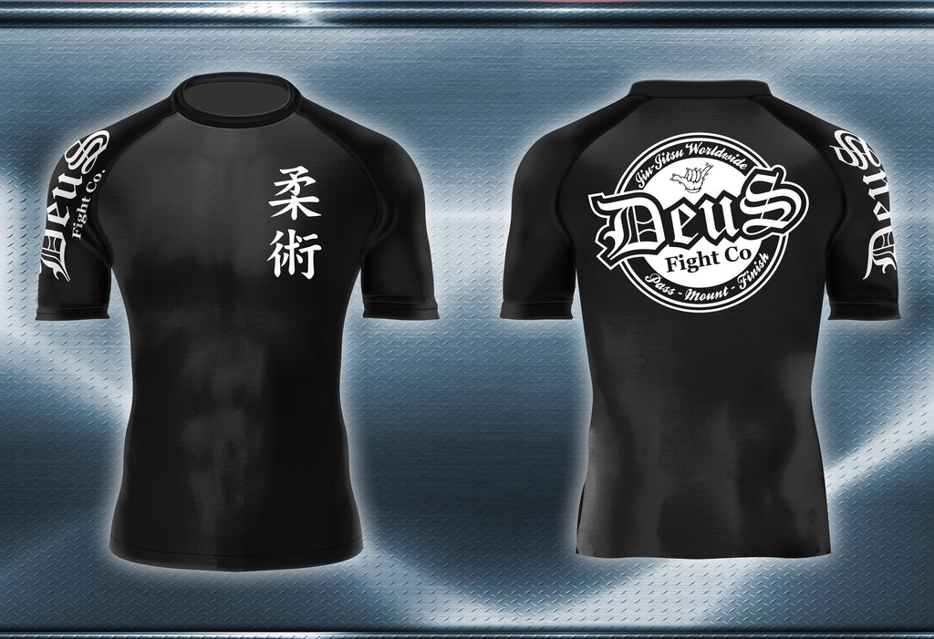 Kids Deus Short Sleeve Rashguard