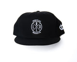 Black Spiritual Warrior Flat Bill and Snapback Hat