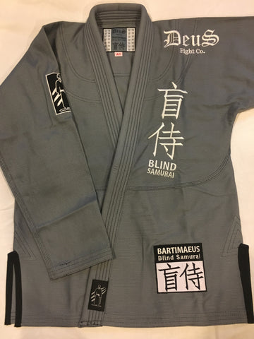 Deus Blind Samurai Gi in Grey