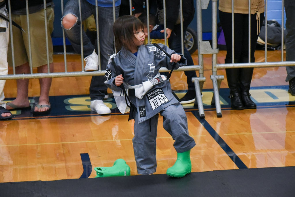 Deus Blind Samurai Gi in Grey For Kids