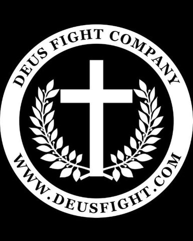 White on Black Cross Logo Patch