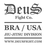 White Deus Logo Patch
