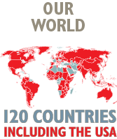 Our World, 120 Countries Including the USA