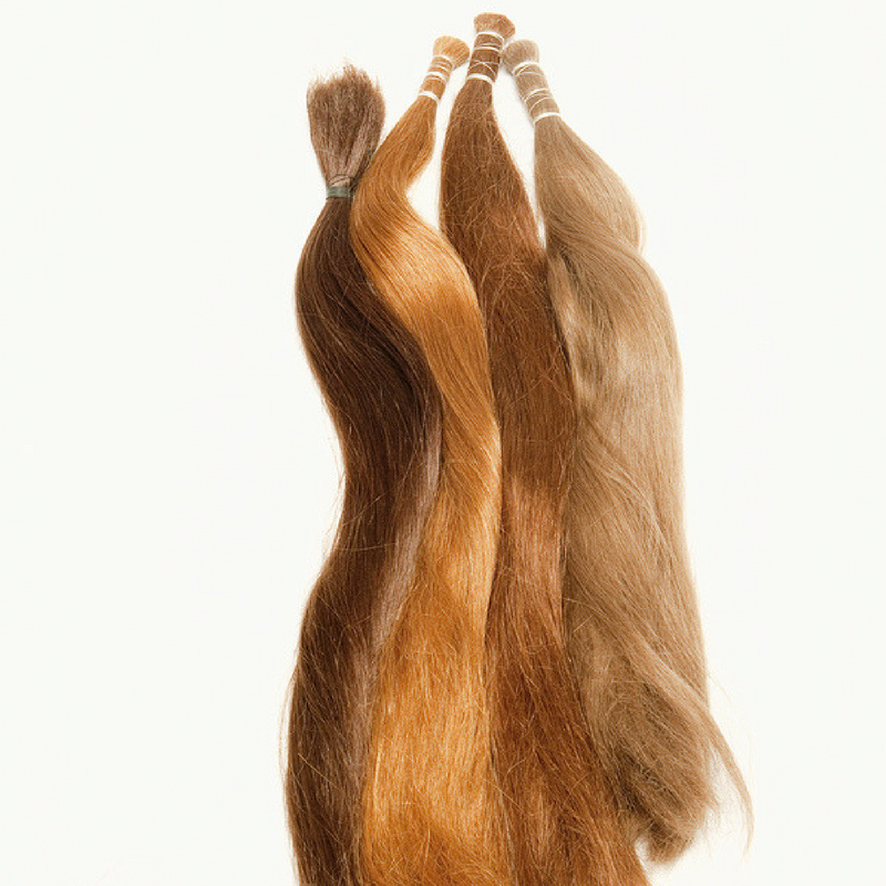 Real Hair, Hair Extensions, Dyed Hair Extensions, Real Hair Extensions