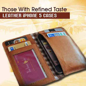 Leather iPhone Case Wallet: The curious case of Men and their Mobiles