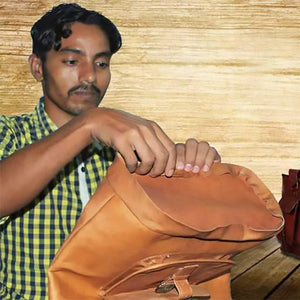The story of an artisan: How leather bags changed Raju's life