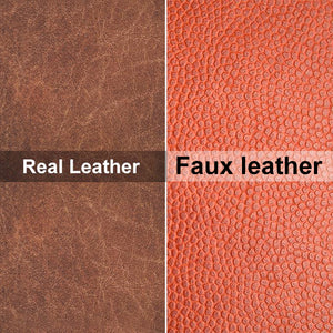 Difference between real leather and faux leather: Top 4 easy tests!