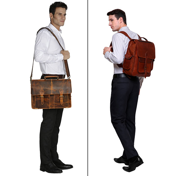 Should you Use a Backpack or Briefcase for Work?