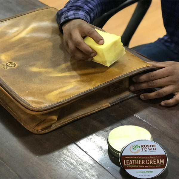 HOW TO DYE LEATHER IN 5 STEPS?