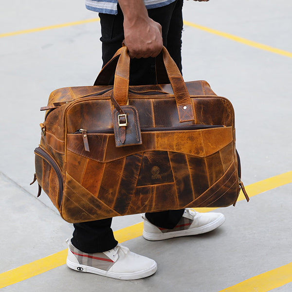 Travel In Style: Pack Your Leather Duffle Bag Like A Pro!