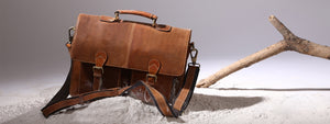 Leather Messenger Laptop Satchel Shoulder Bags