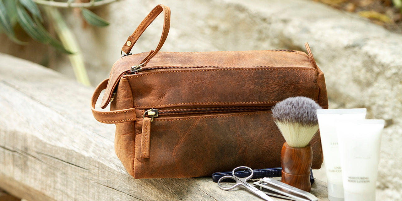 Leather Toiletry Bag - WHERE TO BUY A TOILETRY BAG?