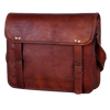 Scout Leather Messenger Bag College Office Leather Laptop Bag (15 inch)