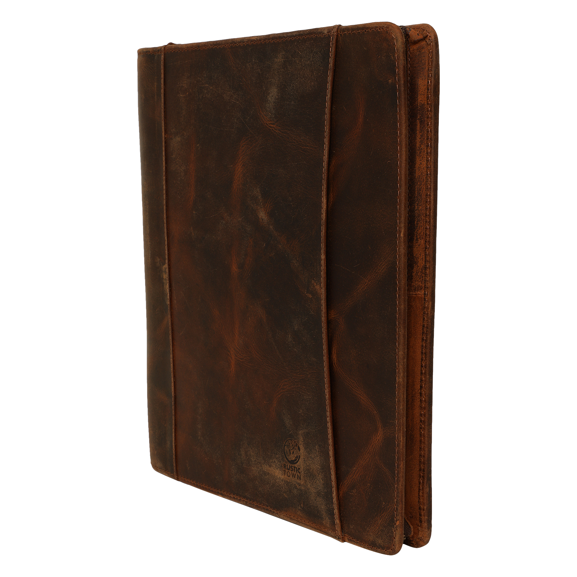 Kingsman Business Leather Portfolio Professional Organizer (Walnut/Mulberry)