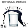 Wholesale Order only - Cotton Washable Cloth Face Mask - Adjustable and Reusable 3 Layer Protective Fabric Face Cover, Breathable Mouth Mask [Pack of 3,  500 set 1500 Pieces  - Assorted Color (Black, White, Blue)]