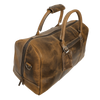Sasha Carry On Duffel Bag (Brown)