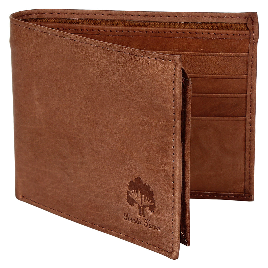 RFID Blocking Handmade Leather Wallets