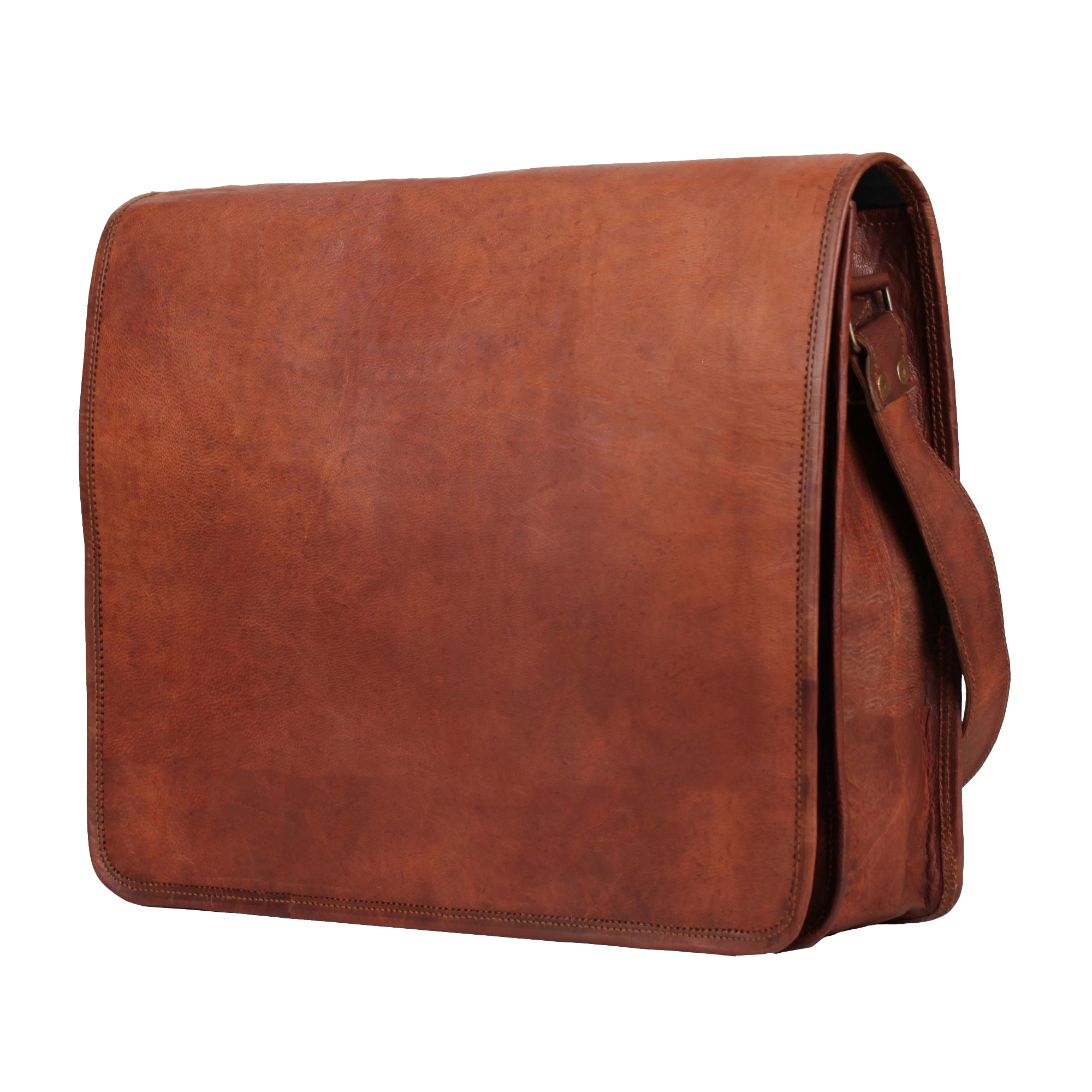 ARTISIAN LEATHER LAPTOP MESSENGER BAG (11 INCH)