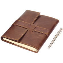 Load image into Gallery viewer, Dreamer Leather Refillable Journal Notebook