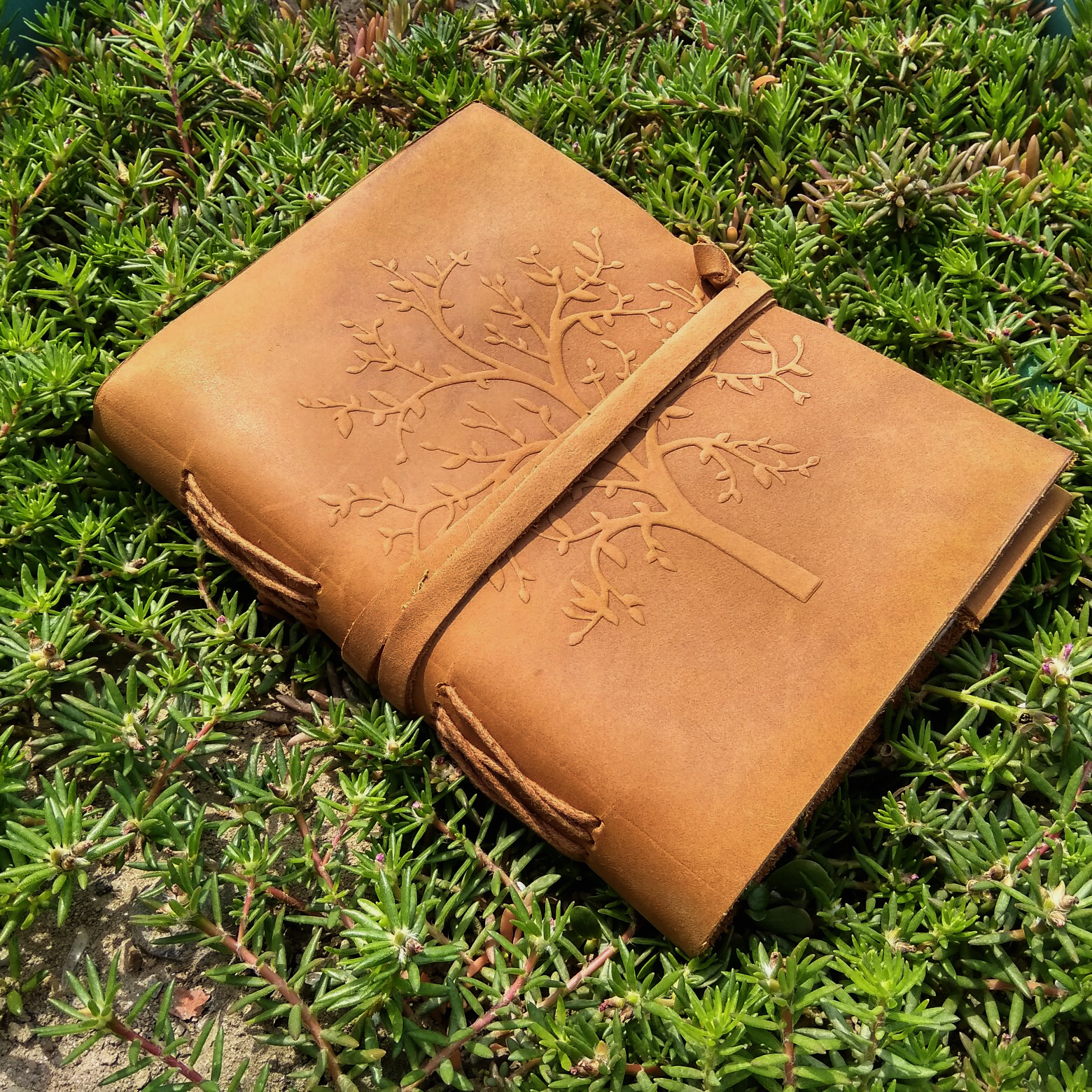 Tree Of Life Leather Journal