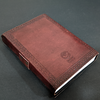 Utopian Leather Journal with Semi-precious Stone & Buckle Closure Leather Diary Gift for Him & Her