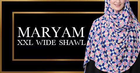 Maryam XXL Wide Shawl