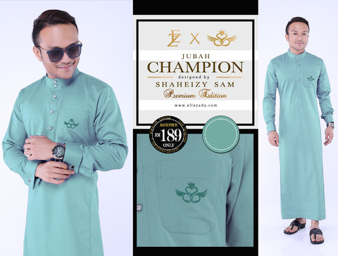 Mint Champion Jubah