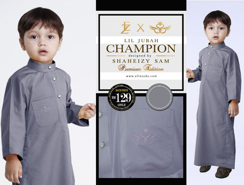 Lil Iron Champion Jubah