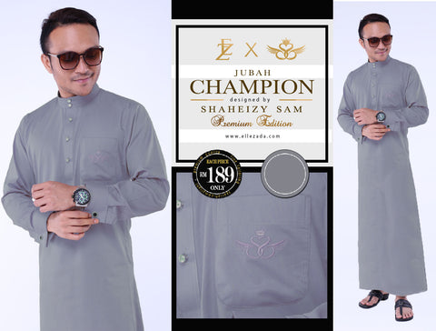 Iron Champion Jubah