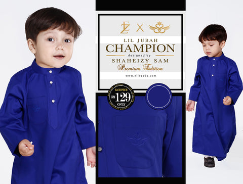 Lil Twillight Champion Jubah