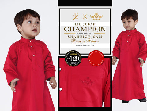 Lil Ruby Champion Jubah