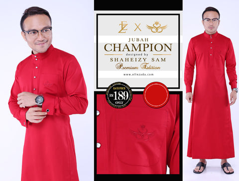 Ruby Champion Jubah