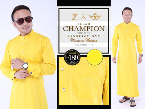 Golden Champion Jubah