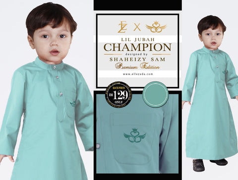 Lil Mint Champion Jubah