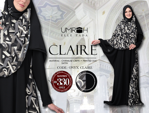 Onyx Claire Jubah