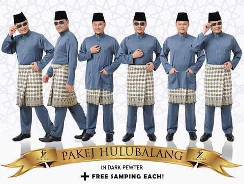 Hulubalang In Dark Pewter