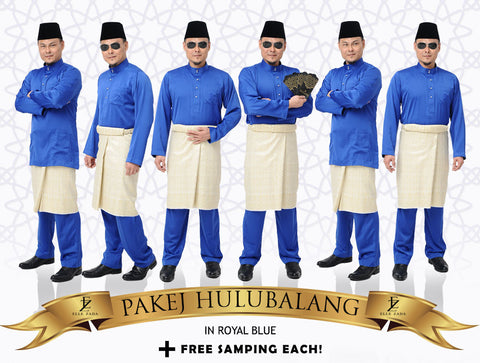 Hulubalang In Royal Blue
