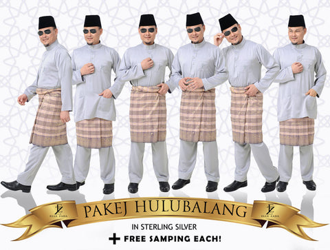 Hulubalang In Sterling Silver