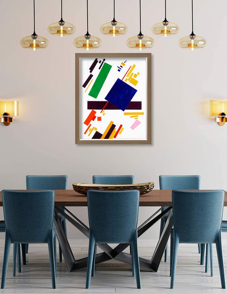 abstract cubism wall art