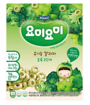Maeil Organic Rice Snacks Stage 2 - Grape & Broccoli
