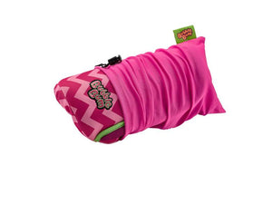 BubbleBum Inflatable Car Booster Seat (Pink Chevron)