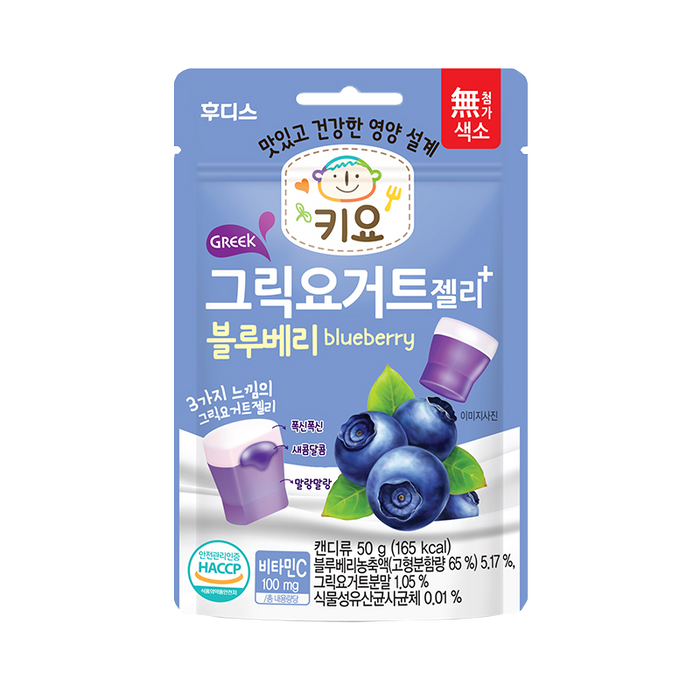 Ildong Keeyo Greek Yogurt Jelly - Blueberry