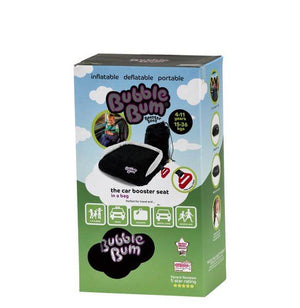 BubbleBum Inflatable Car Booster Seat (Black)