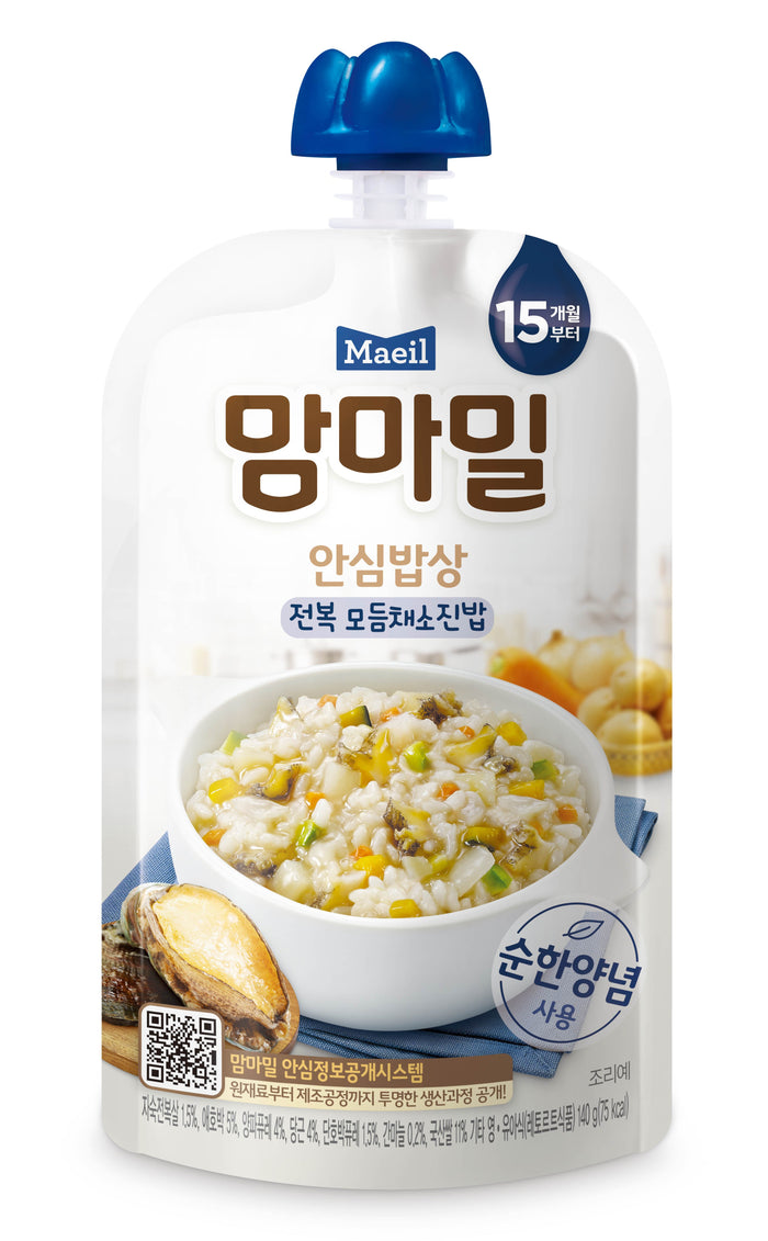 Maeil Baby Porridge Mamma Meal - Abalone & Mixed Veggies