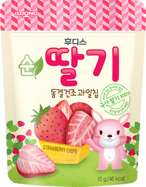 Ildong  Agimeal Pure Strawberry Chips