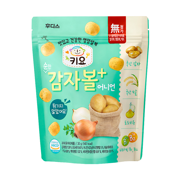 Ildong Keeyo Potato Ball Onion 30g
